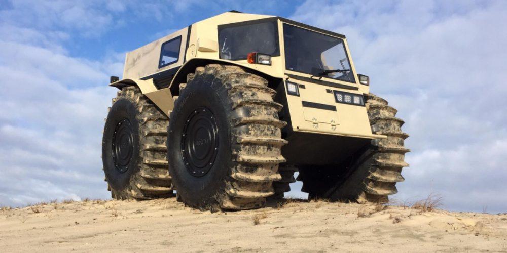Sherp ATV - Bigfoot auf Rädern