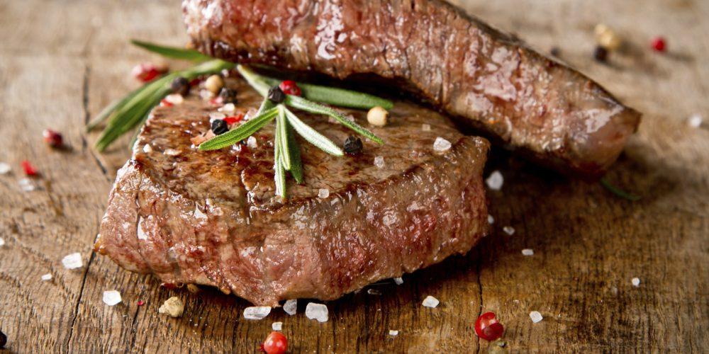 Eine hohe Gartempratur ist wichtig für Steaks. Der Cook-Air erreicht diese spielend!