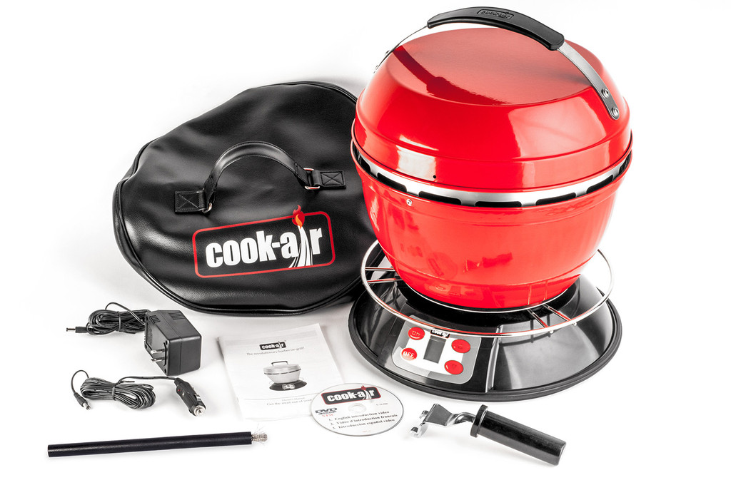 Der Cook-Air hält locker bei herkömmlichen Grills mit und hat ihnen hier und da sogar etwas voraus.