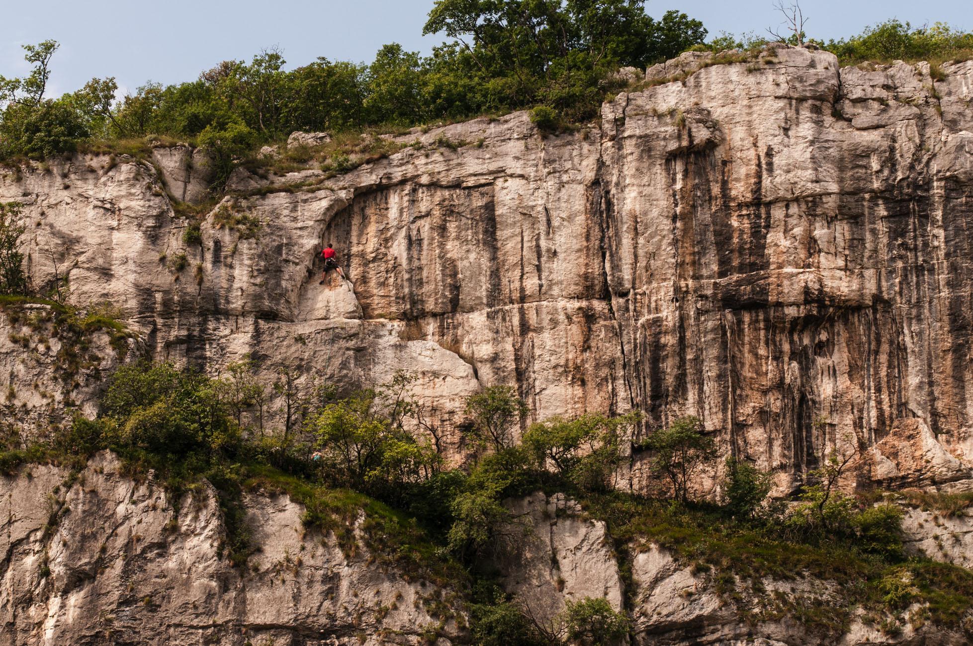 Sipario delle Ombre im Überblick. Diese Route hat alles wonach man sucht.