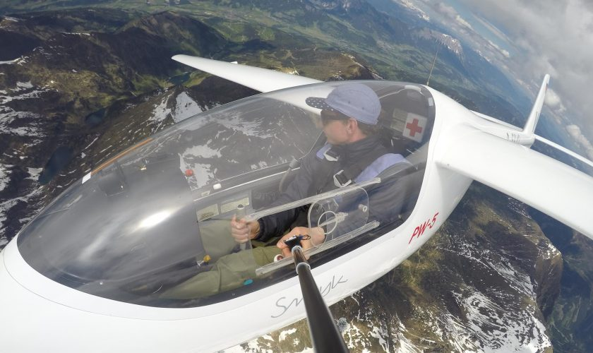 Tobi Tritscher Cockpit Segeflug