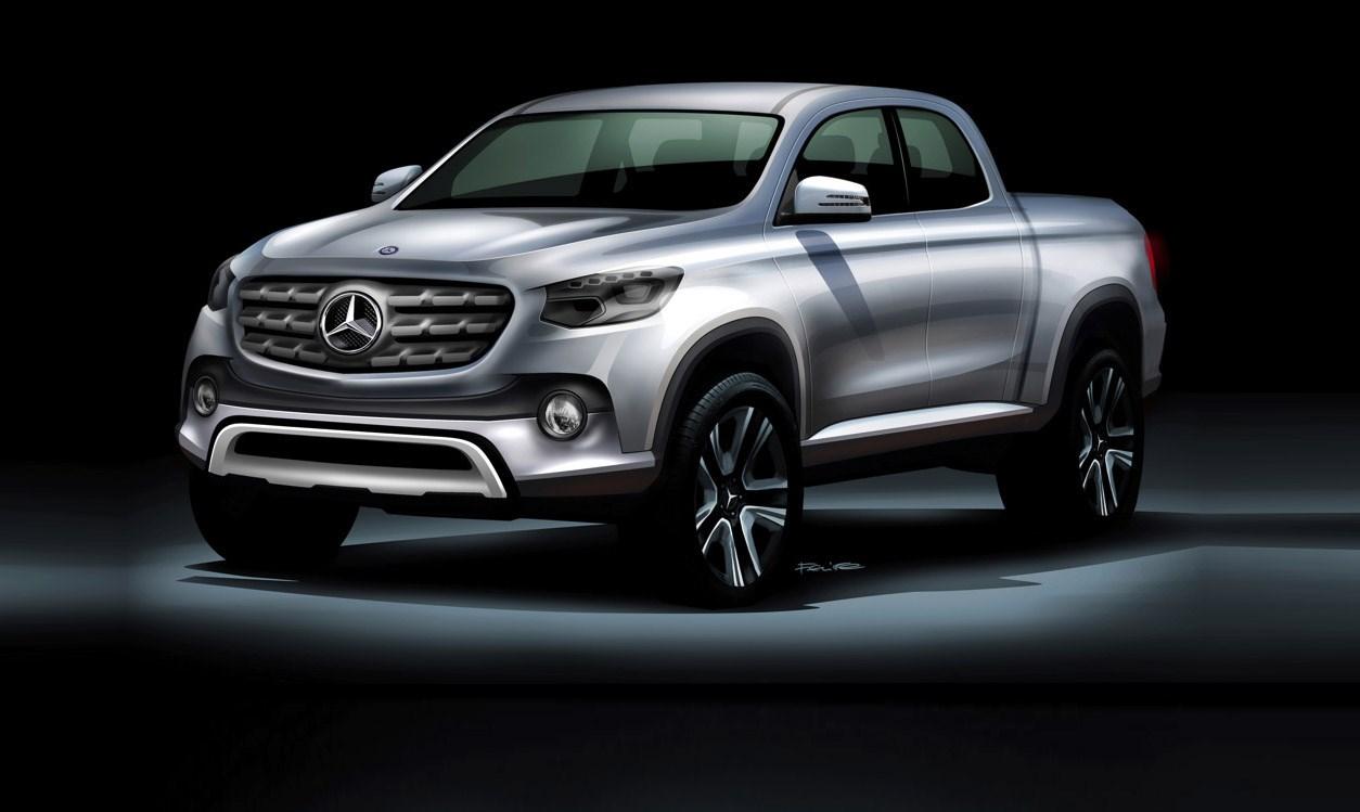 Mercedes Benz GLT - Entwurf