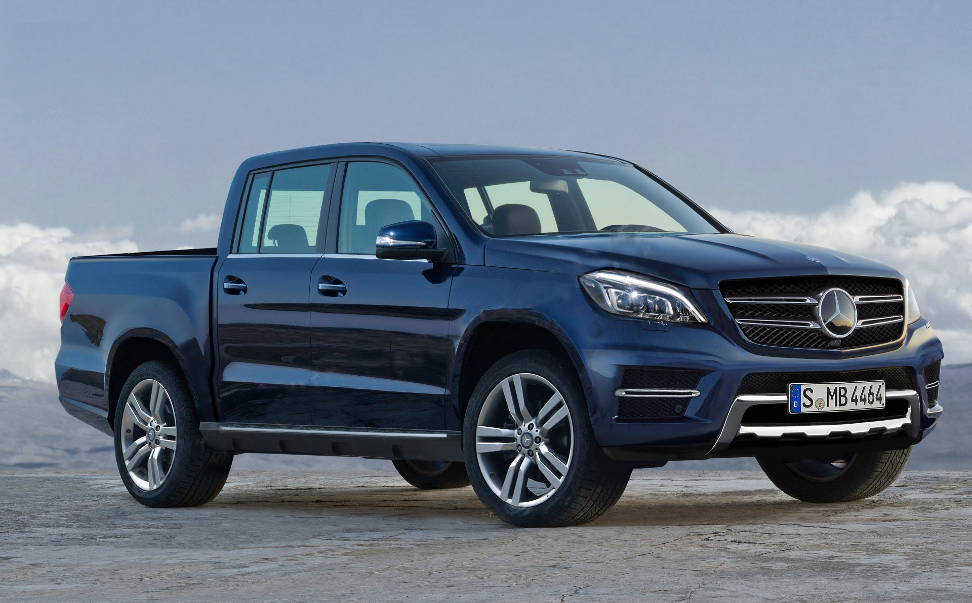 Mercedes GLT - Pickup