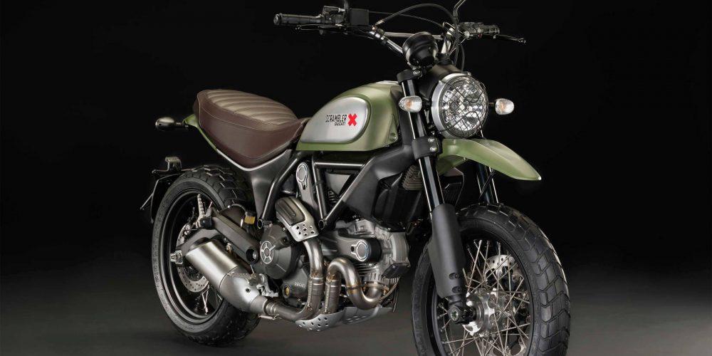 Da will man doch gleich aufsteigen und losfahren. Sehr schick die Urban Enduro von Ducati. (Source: Motorcycledaily.com)