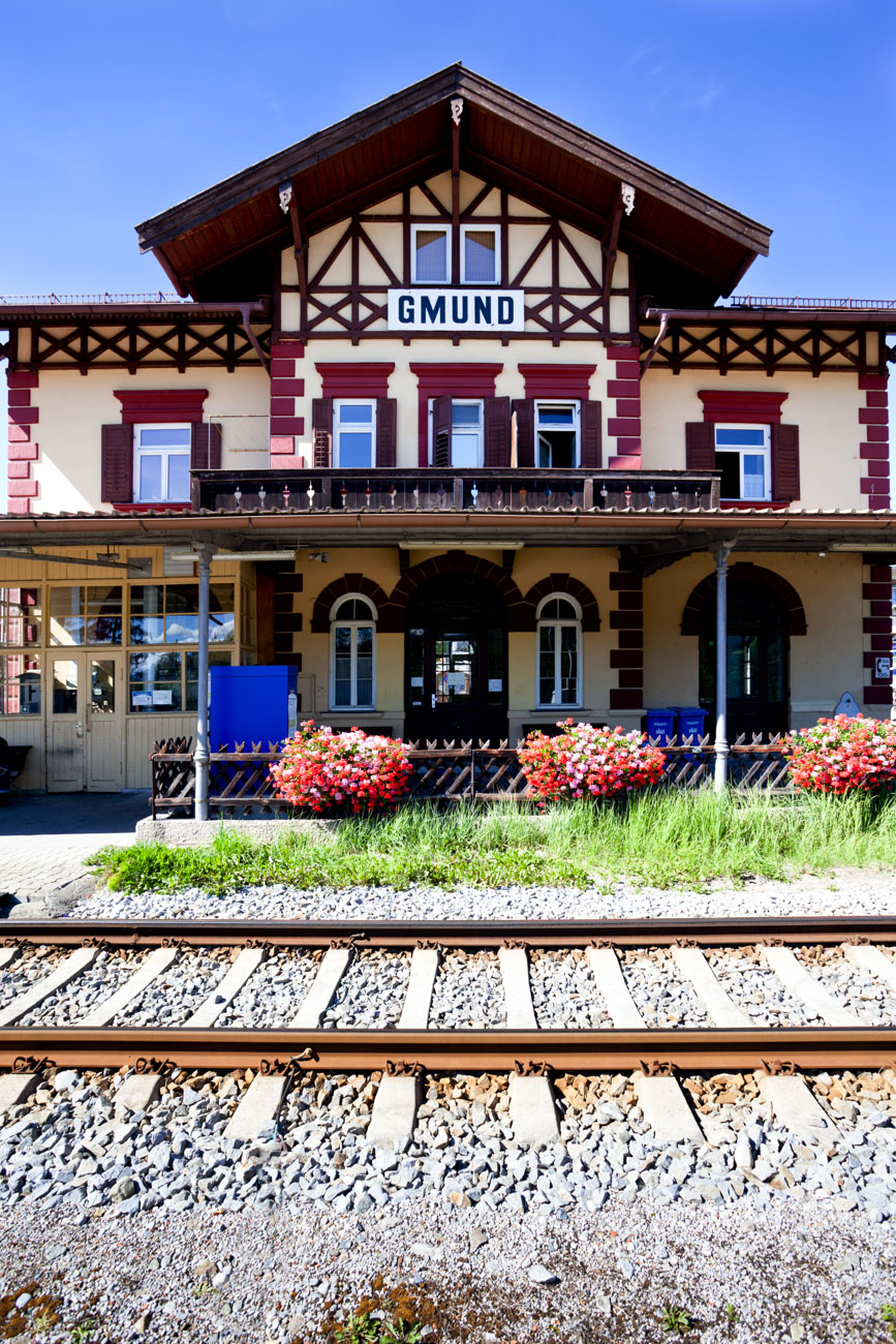 Los geht´s in Gmund am Tegernsee...