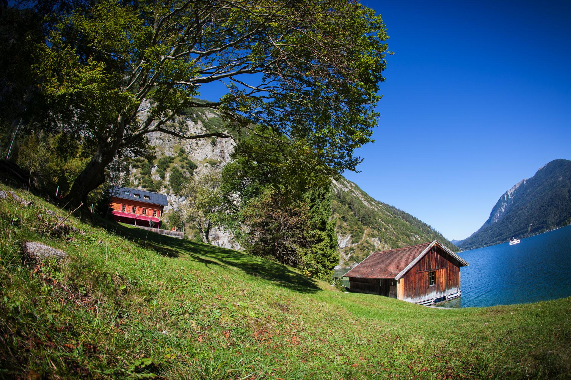 Berge, Seen und Gletscher am Alpenhauptkamm. Diese Bilder prägen den Trip