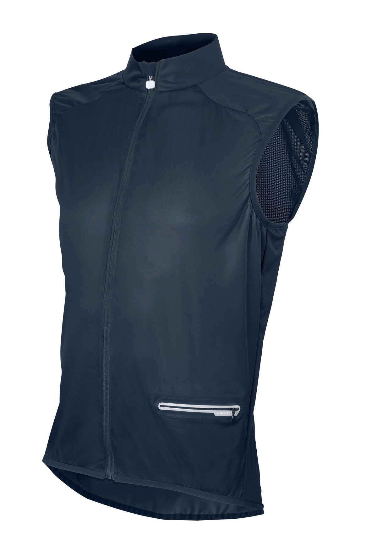 Wind Vest in Navy Black