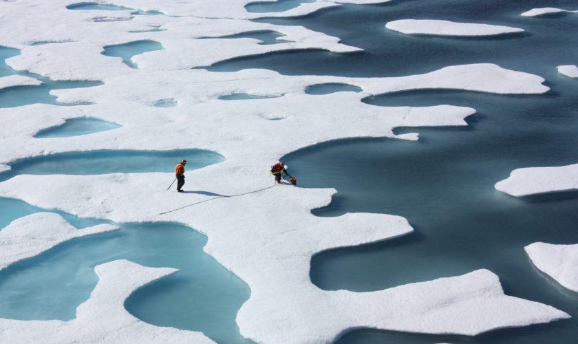 NASA Forscher in der Arktis