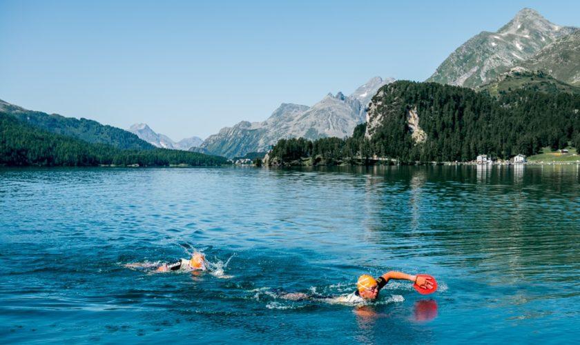 Schwimmer beim Swimrun Jakob Edholm-min