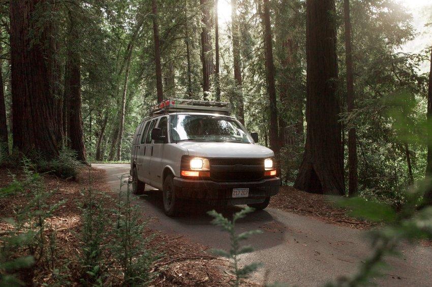 Zach Both hofft mit seinem Van noch viele spannende Orte zu bereisen und dort zu filmen. (Source: Zach Both)
