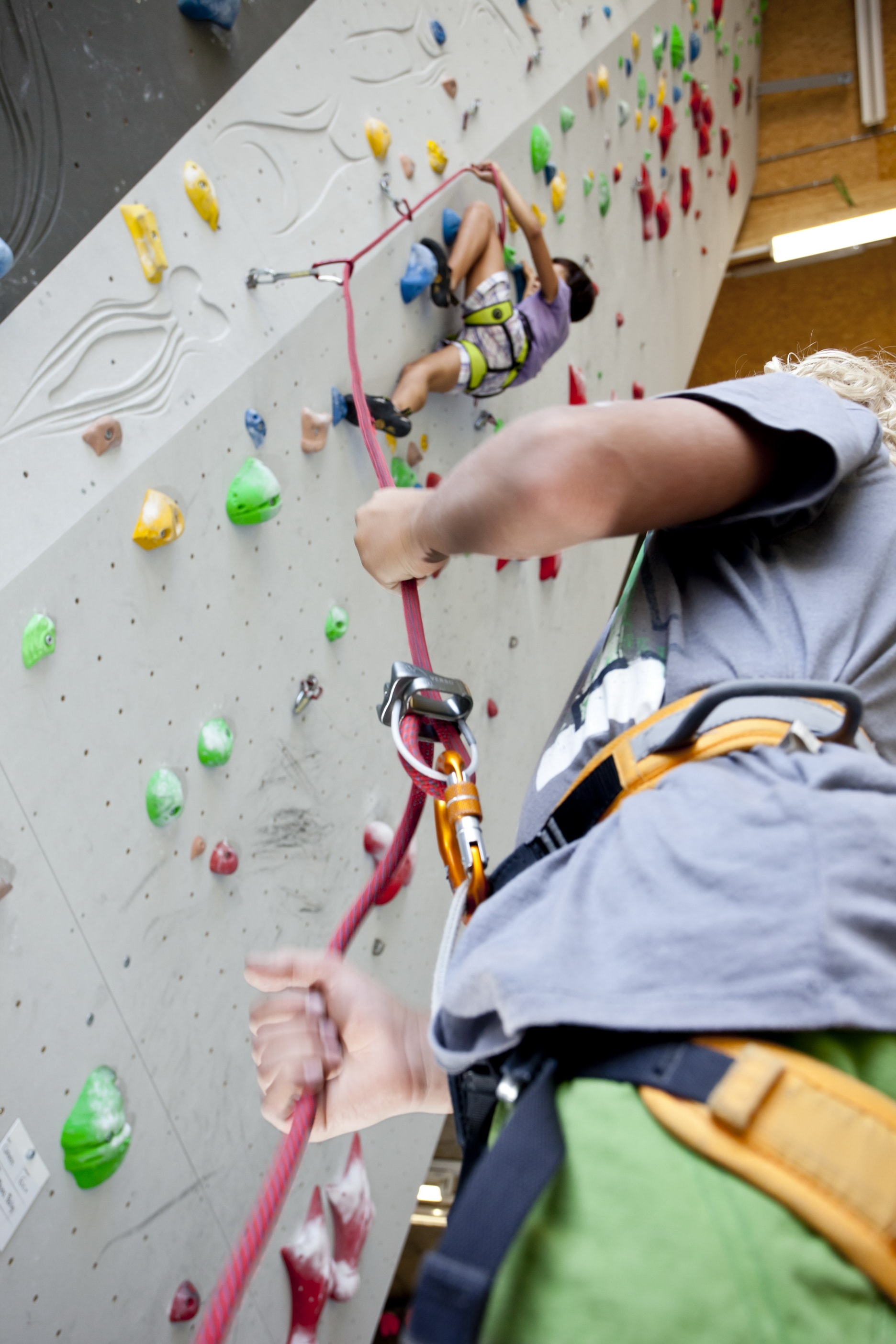 Bei Climbhow gilt: Safety first! (Source: Climbfirst)