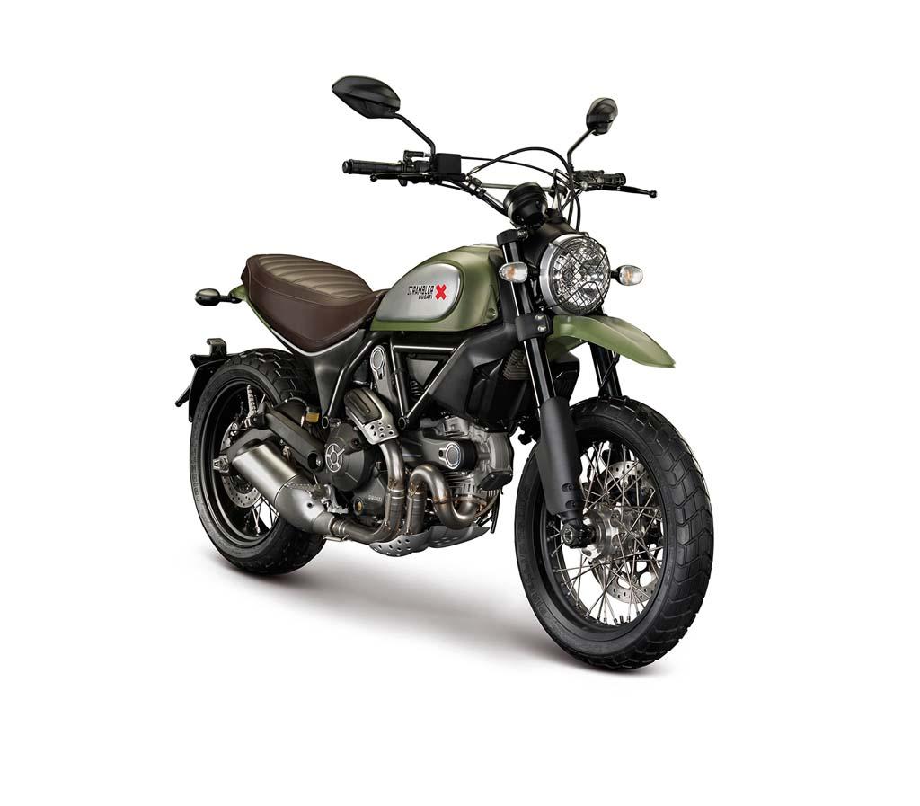 Der Scrambler ist wirklich äußert schön gelungen und sollte sowohl Nostalgiker als auch moderne Biker ansprechen. (Source: Ducati)