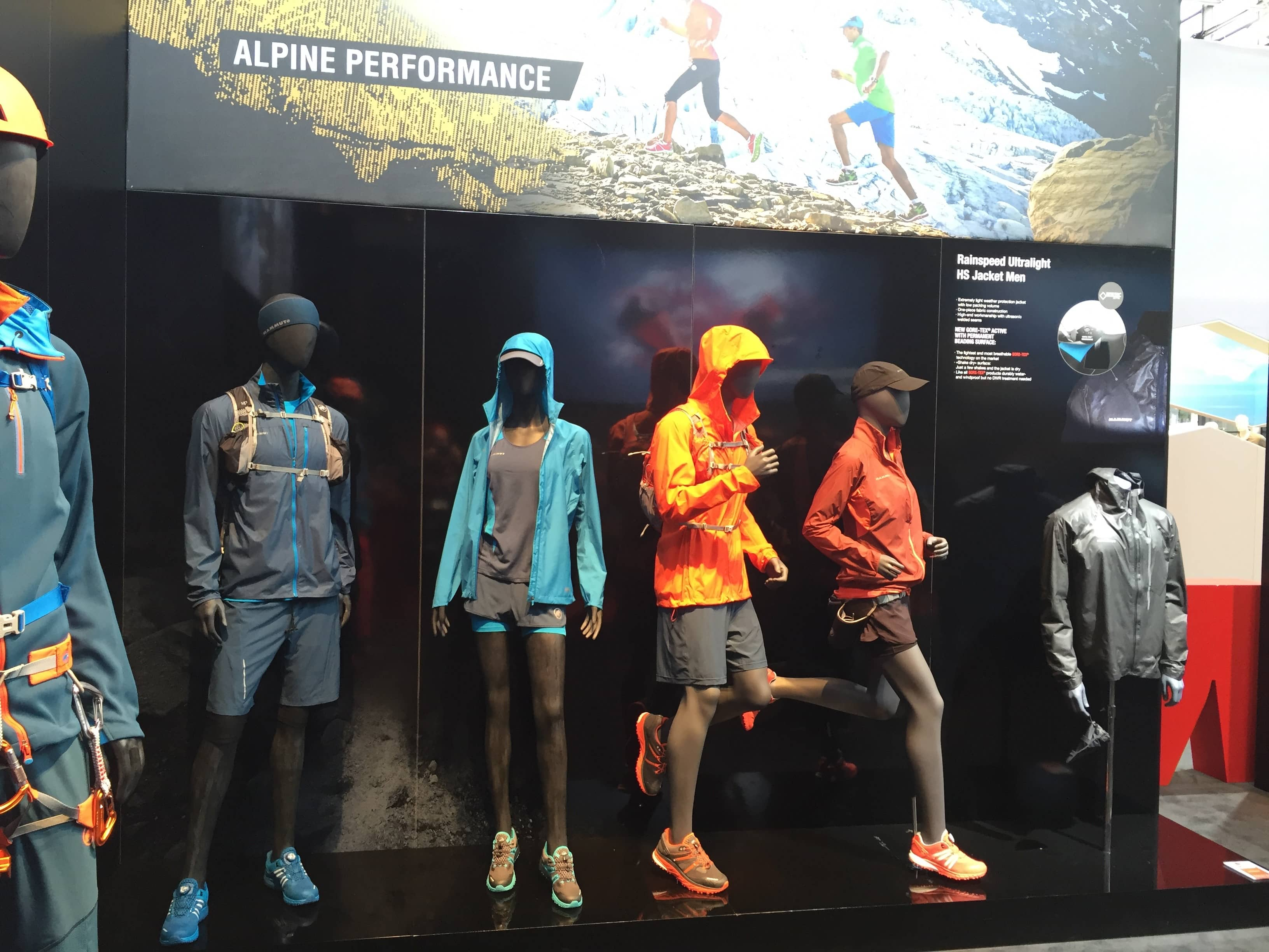 Die Alpine Performance Wear von Mammut.