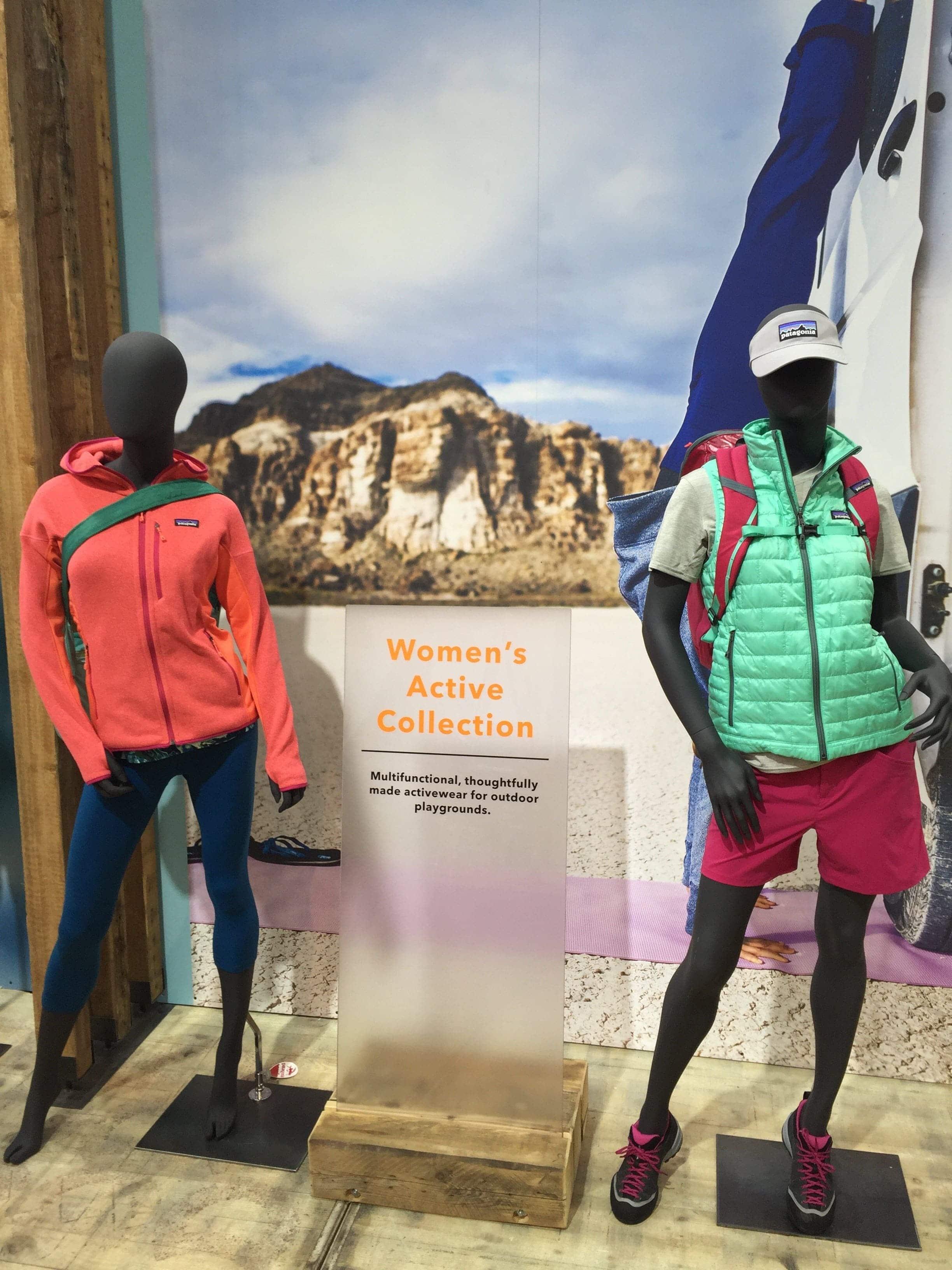 Die Women's Active Collection funktioniert nicht nur beim Sport, oder in der Natur, sondern auch im urbanen Alltag. (Credit: Christopher Neumann)