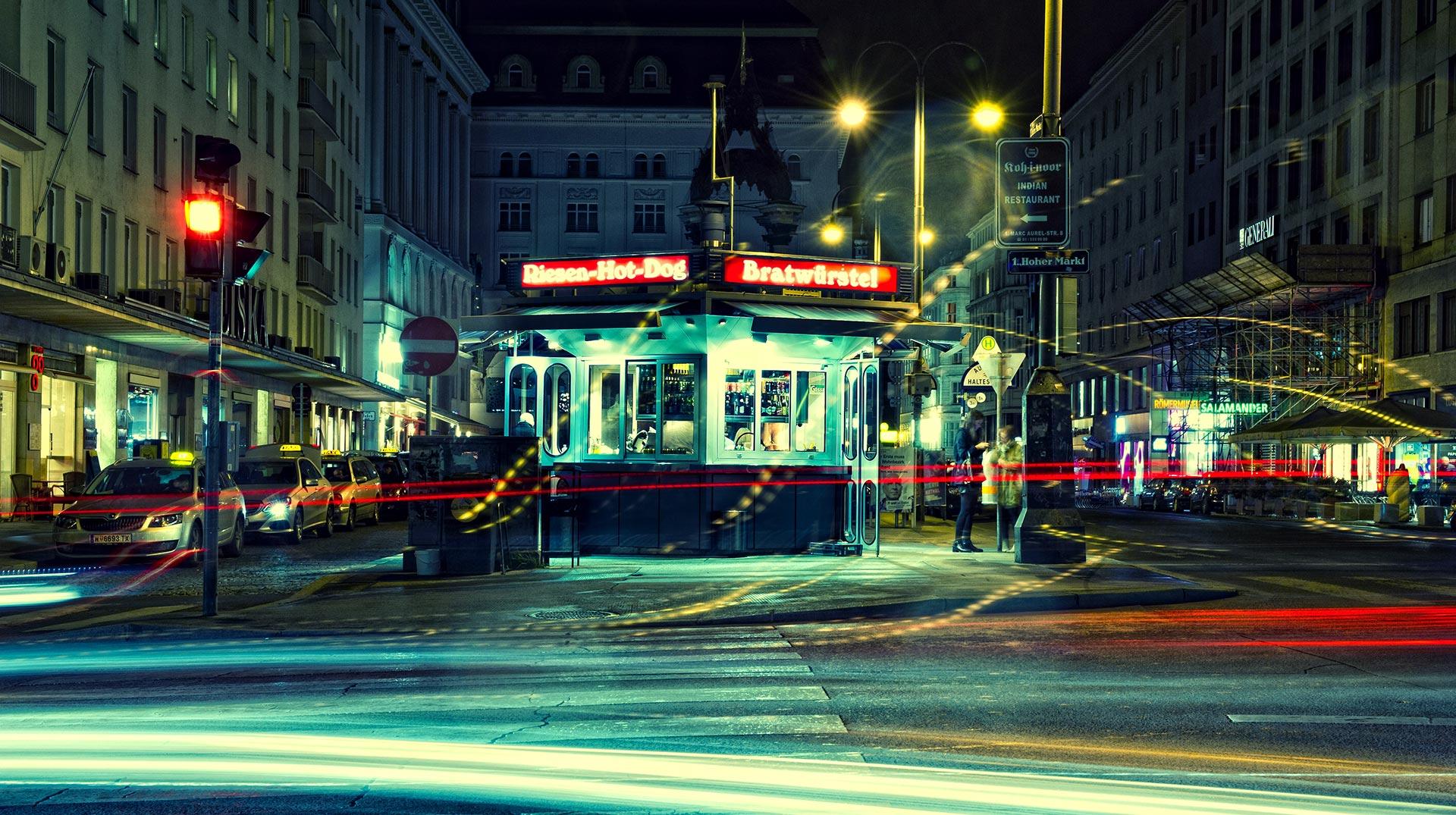 Wie fängt man die Atmosphäre und den Vibe einer Stadt wie Wien ein? © Alex Papis