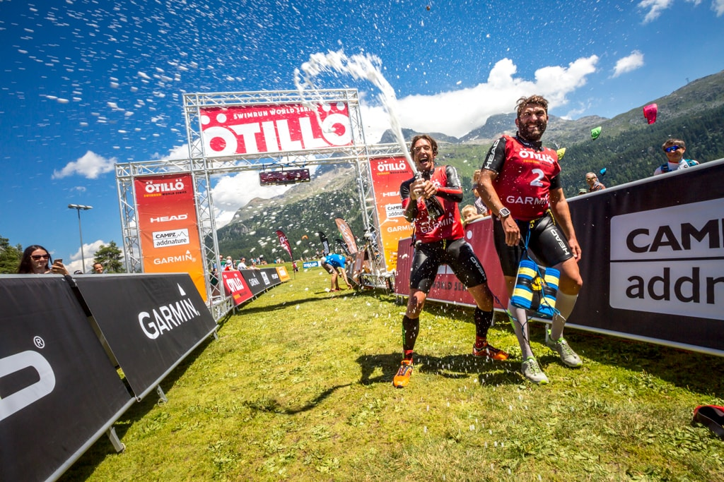 Swimrun Engadin 2016 Winners Men