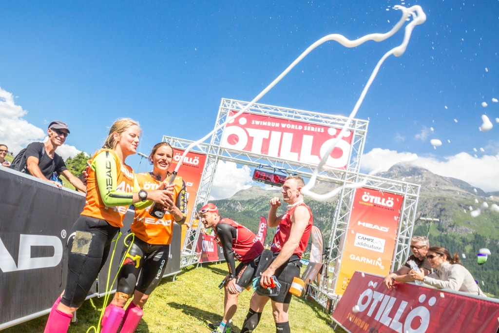 Swimrun Engadin 2016 Winners Women