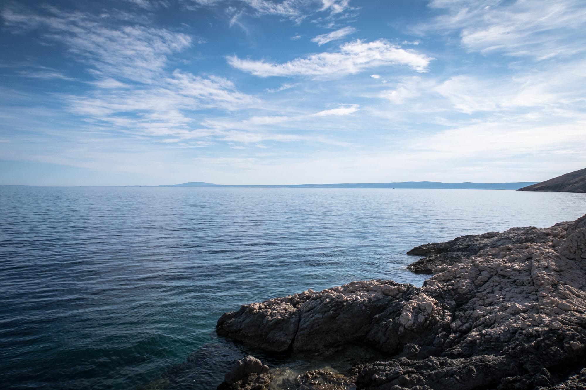 Ausblicke wie dieser lockte die Crew aus der Heimat nach Kroatien. (Foto: Sven Kueenle)