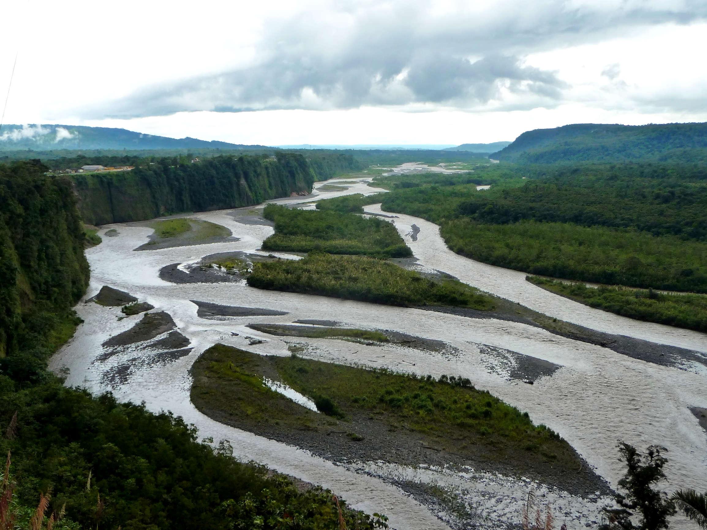 Der Pastaza Fluss eignet sich optimal für Rafting-Touren (Foto: Ondřej Žváček)