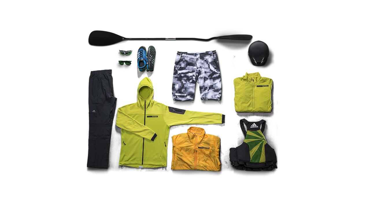 Essentials fürs Kayaking   © adidas
