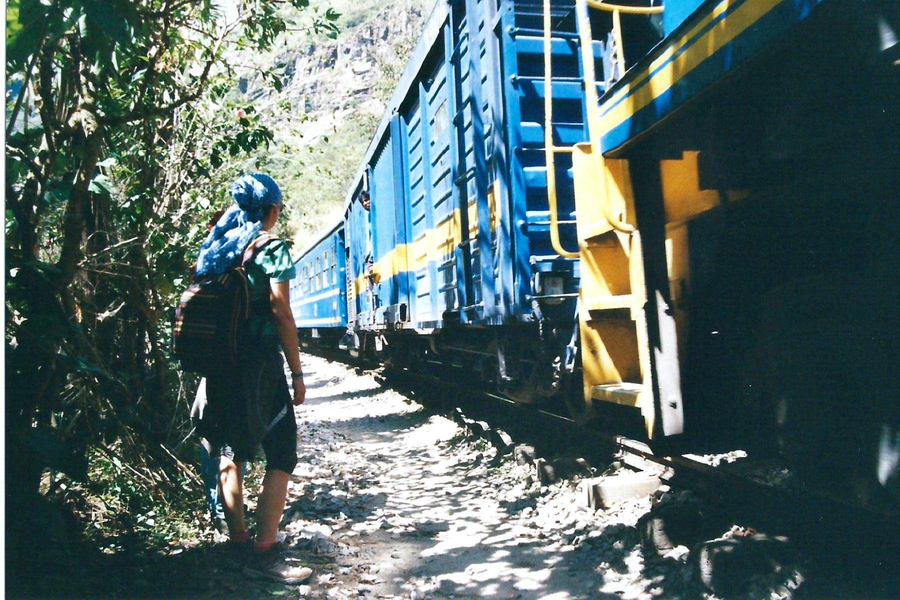 Der Touristen-Zug zum Machu Picchu