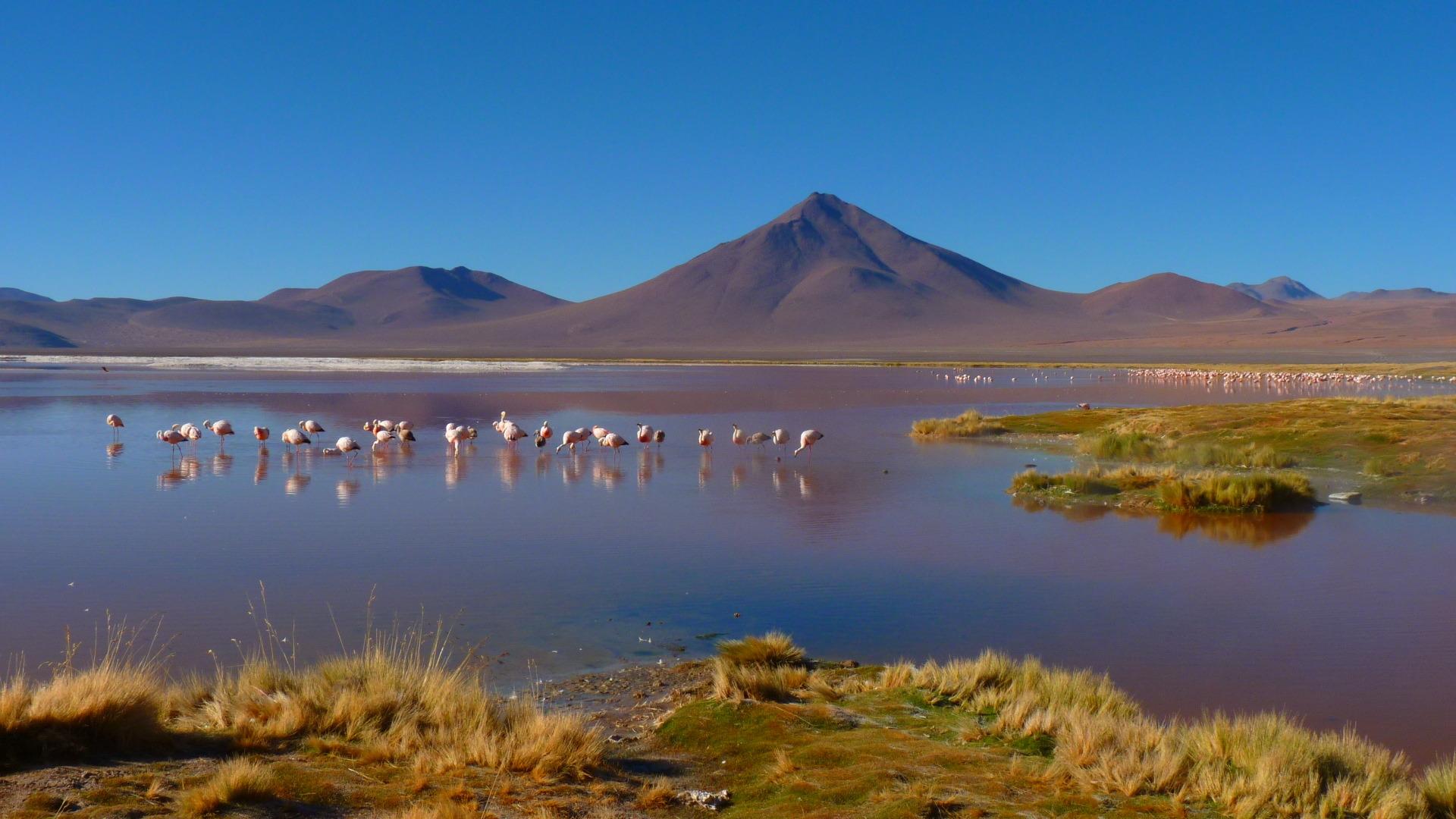 Traumhafte Landschaften Boliviens - beim nächsten Mal mit Motorrad!
