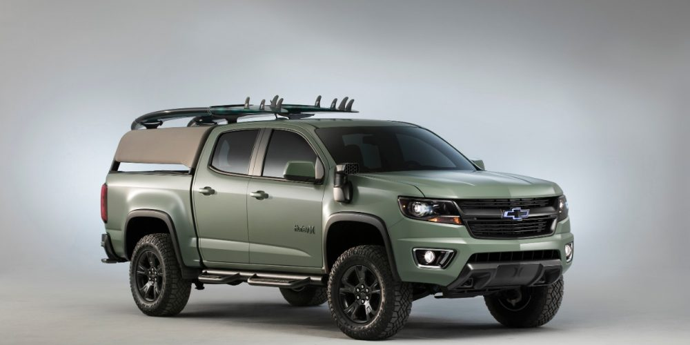 Surfcar Chevrolet Colorado Z71 Hurley Concept