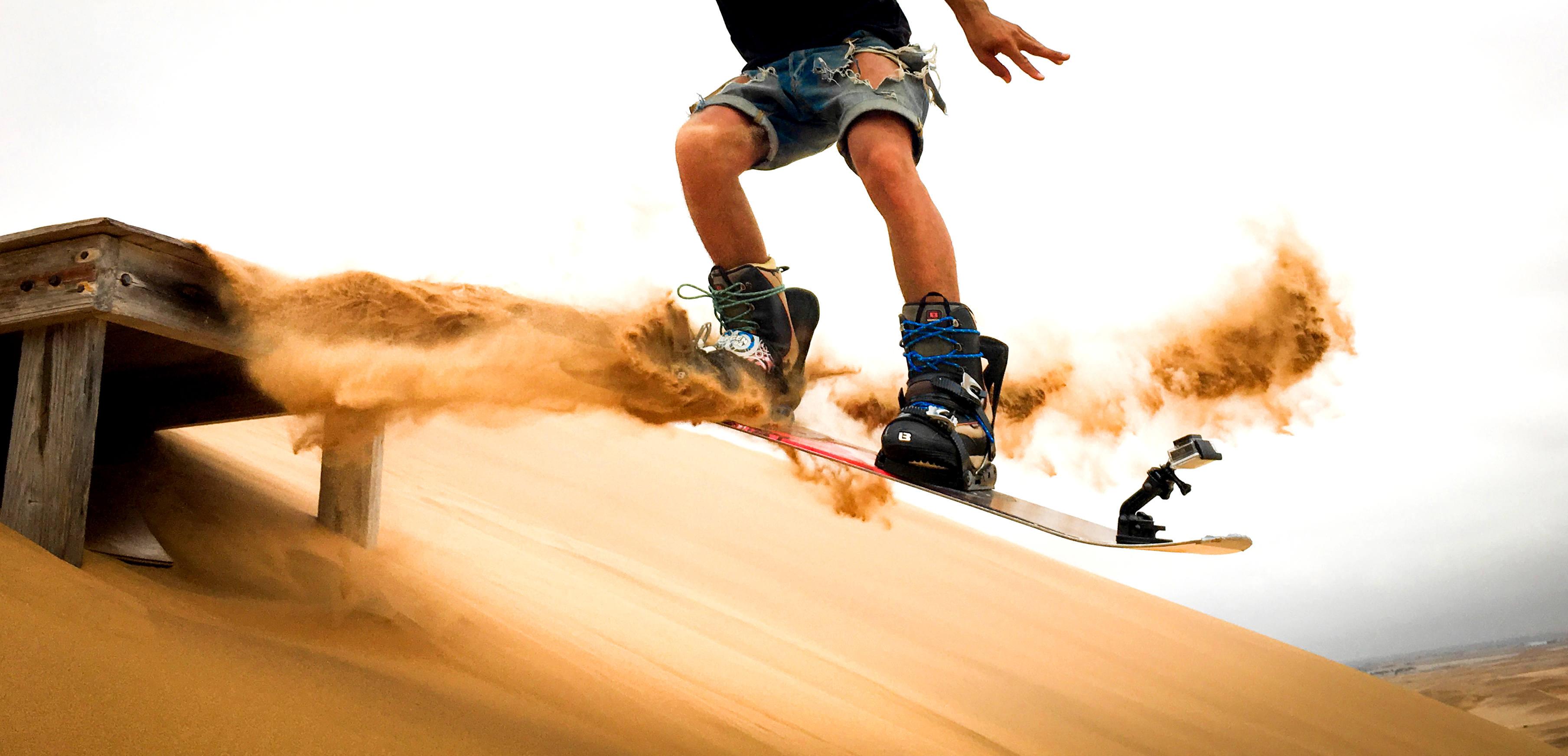 Sandboarding: extrem cool, extrem hot