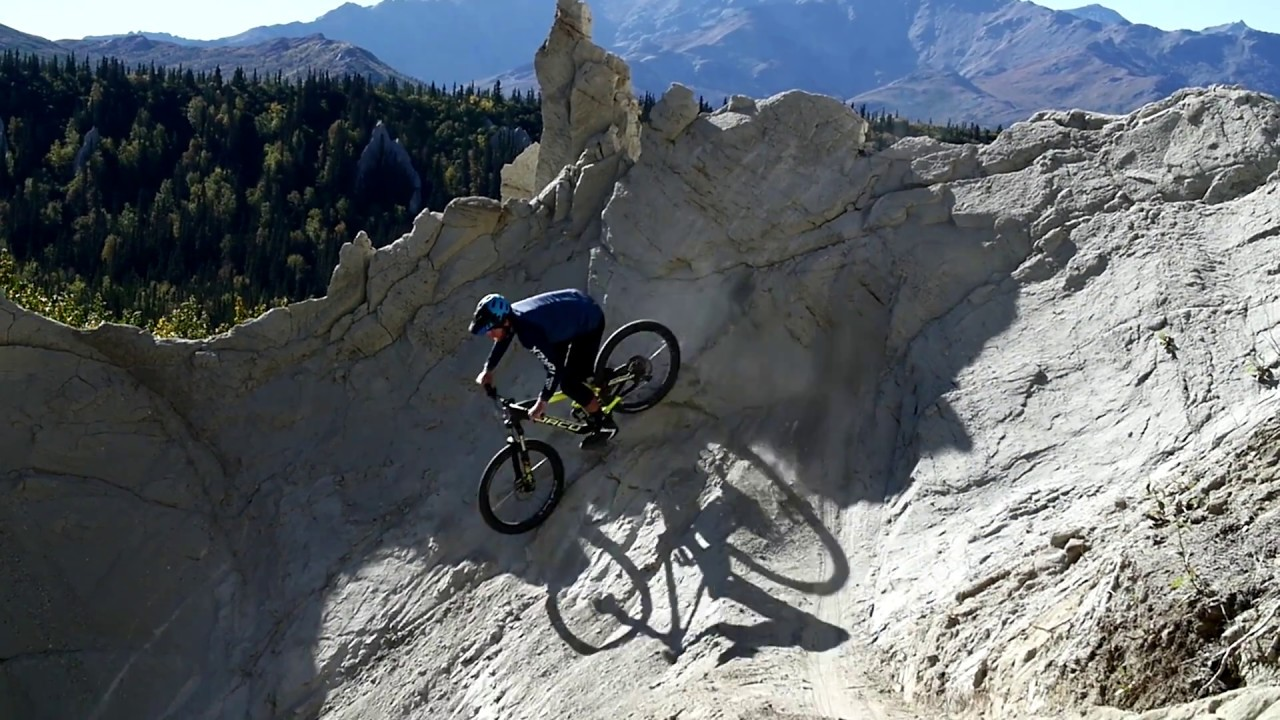 Mountainbiking in Alaska