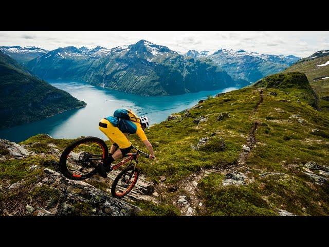 Mountainbiking in Norwegen