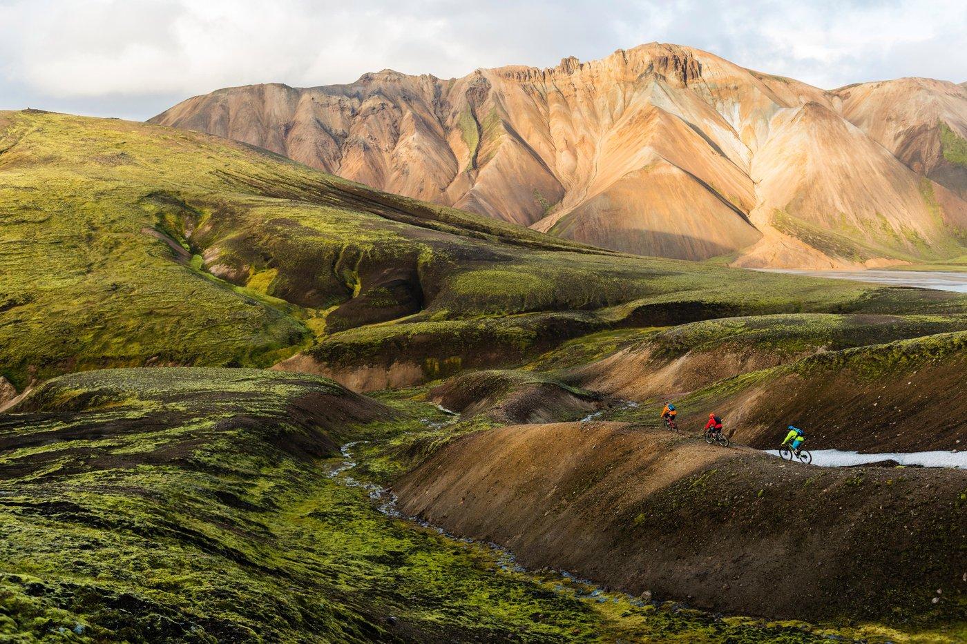 Mountainbiken auf Island