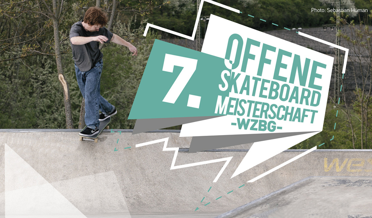 Skateboard Meisterschaft in Würzburg 2017