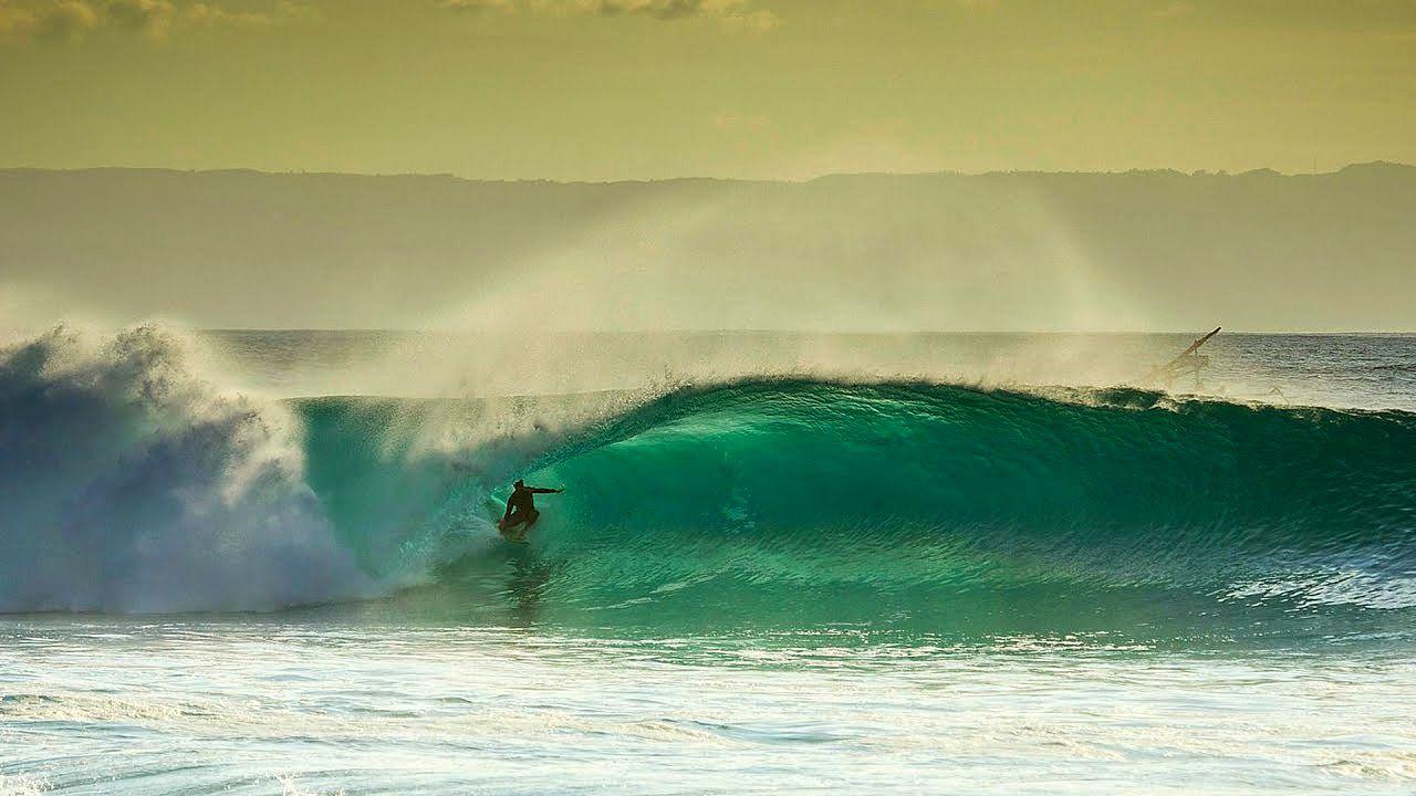 Lombok / Indonesien Surfing