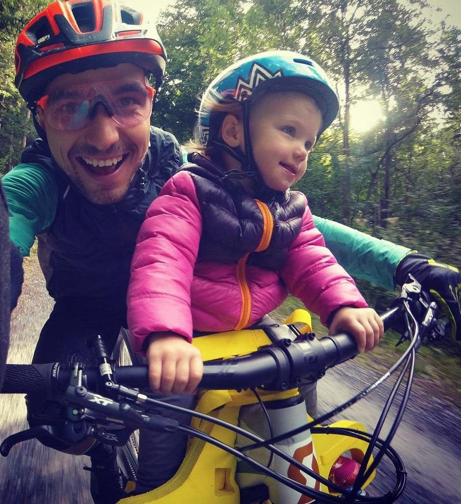 Ninno Schurter Fahrrad-Kindersitz Scott