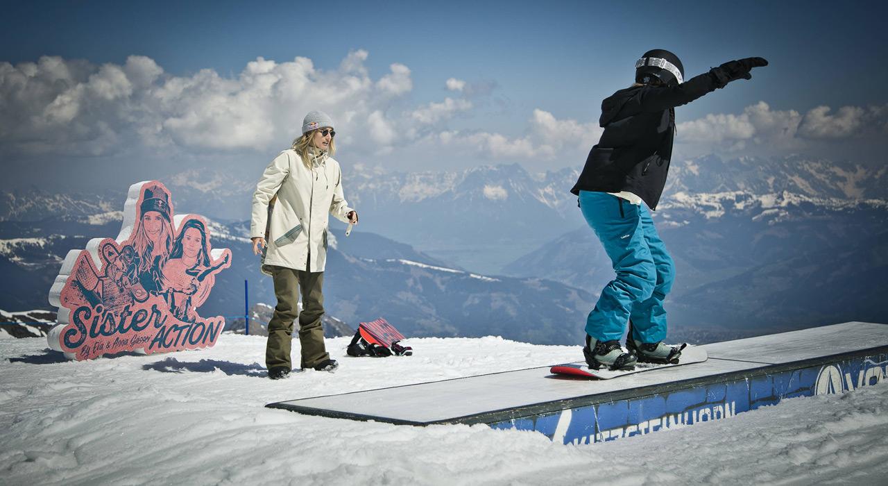 Man bekommt nicht oft die Gelegenheit, Tipps von einer der besten Snowboarderinnen zu bekommen | © Red Bull