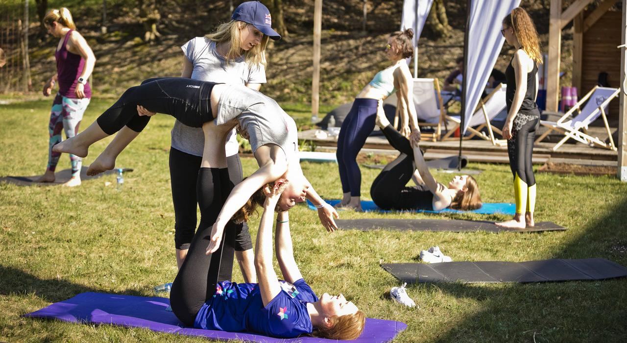 Akrobatik-Übungen standen ebenfalls auf dem Programm | © Red Bull