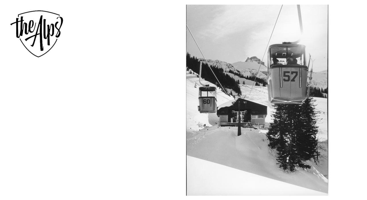 So sah es 1972 im Skigebiet Mellau aus | © Doppelmayr
