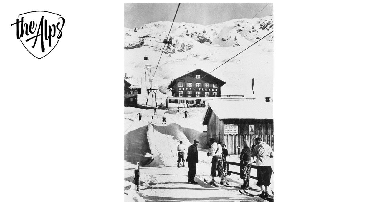 Mit diesem Schlepplift am Arlberg begann die Erfolgsgeschichte | © Doppelmayr