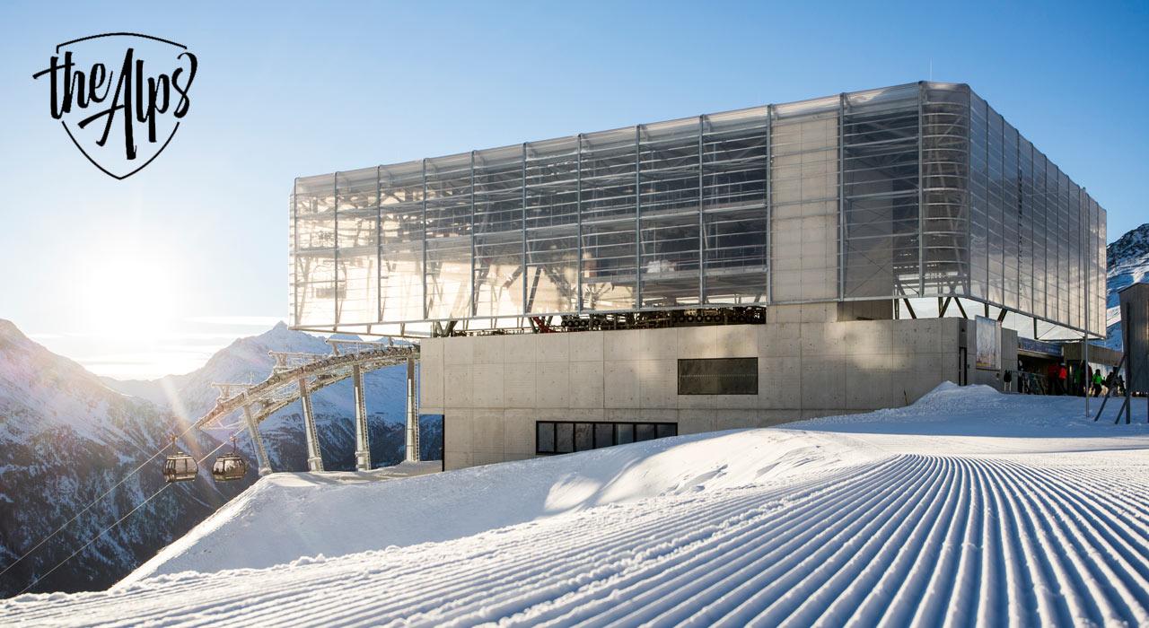 Die neue D-Line der Giggijochbahn in Sölden ist die neueste Innovation | © Doppelmayr