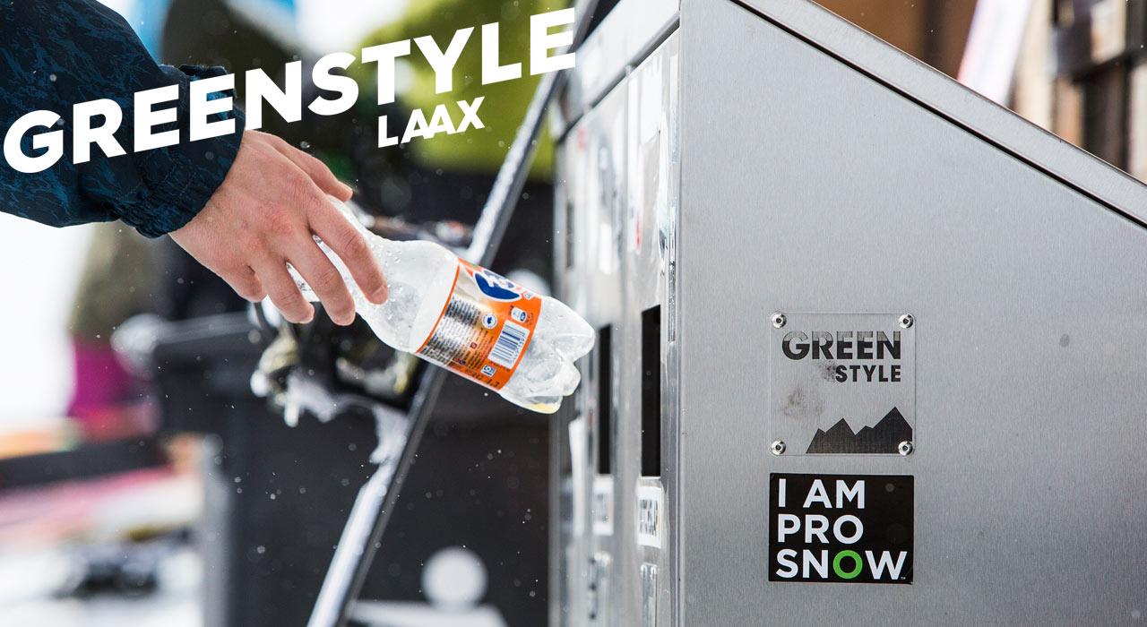 Kleine Geste, große Wirkung: Die Recycling-Stationen am Berg | © LAAX